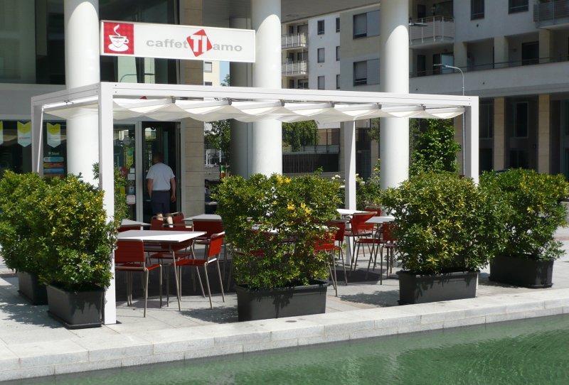Strutture per esterni per case ville negozi e locali punto parquet - Strutture in alluminio per esterno ...