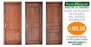 Porte in legno da interno bugnate in vendita presso punto parquet Amelia (TR)
