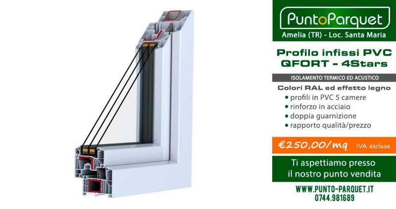 Serramenti PVC Terni - Infissi QFort 4Stars