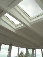 Lucernai a tetto su veranda - realizzazione in provincia di Terni