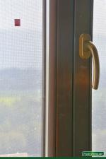Zanzariere avvolgibili, sistema di montaggio ad incastro, colore legno, Viterbo - Roma - Terni
