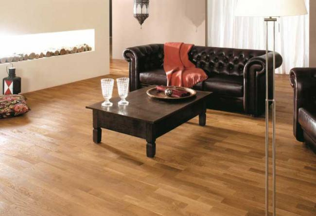 Parquet in Laminato - Noce 3 strip