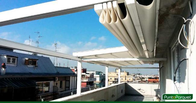 Emejing coperture terrazzi alluminio contemporary amazing design copertura