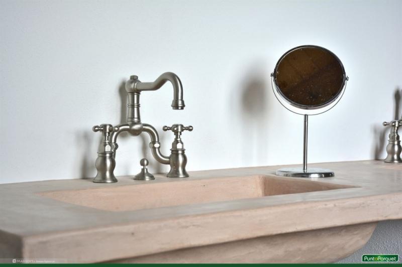 Rubinetteria GRAFF nichel ottone spazzolato , arredo bagno e box doccia stile classico -  Viterbo - Roma - Terni