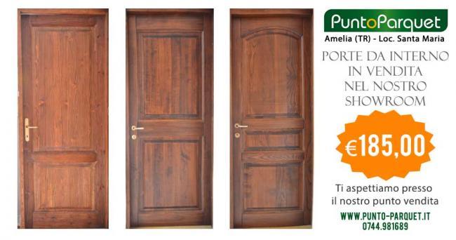 Offerta porte bugnate in legno per interni
