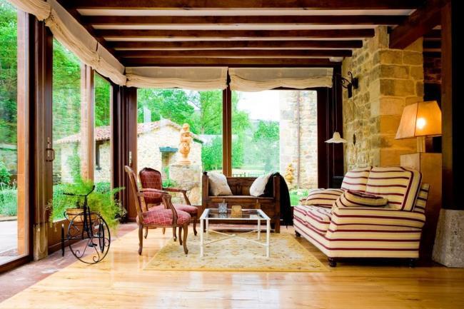 Verande in legno per terrazzo apribili a libro a terni - Verande su terrazzi ...