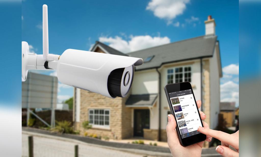 Videosorveglianza domotica, Impianti di sicurezza e Connessioni Internet